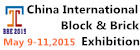 China International Block and Brick Technology and  Equipment Exhibition (BBE 2014